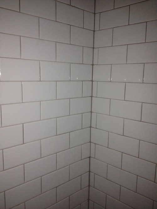 Subway Tile Gone Wrong