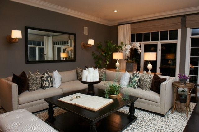 Cool California Living Room eclectic