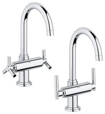 Atrio Two Handle Single Hole Bridge Faucet modern-bath-products