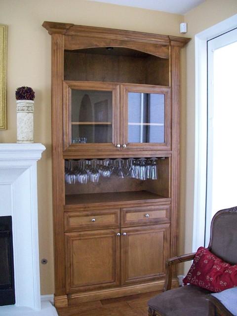 Wine Cabinets traditional-wine-cellar