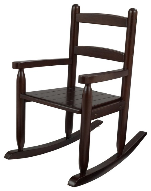 2-Slat Rocker in Espresso - KidKraft Furniture - 18153 contemporary-furniture