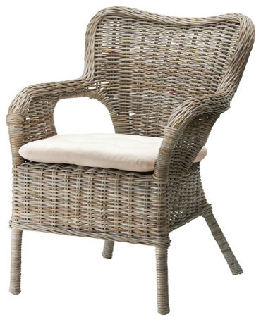 Byholma marieberg chair scandinavian armchairs and accent chairs by ikea - Rattan dining chairs ikea ...