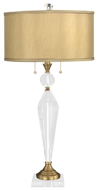 Dale Tiffany Gt701218 Strada Transitional Crystal Table