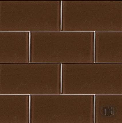 Cinnamon Brown Subway Tile Tile Other Metro By M S