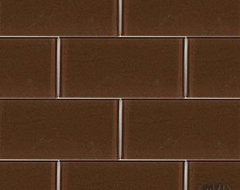 Cinnamon Brown Subway Tile tile