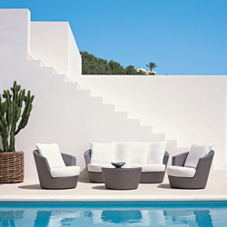 Eden Roc Lounge Set mediterranean outdoor chaise lounges