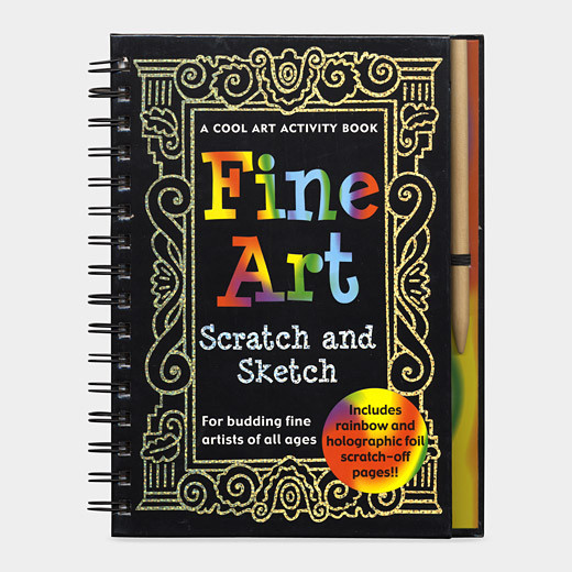Fine Art Scratch and Sketch modern-kids-toys-and-games