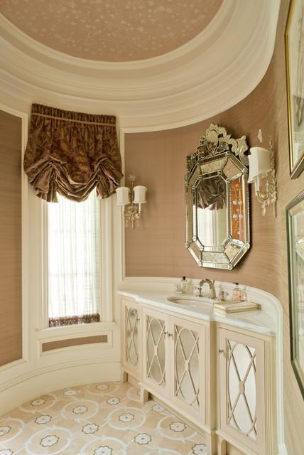 formal powder room
