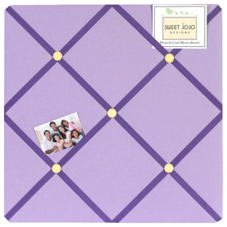 Daisies Fabric Memo Board contemporary-bulletin-board