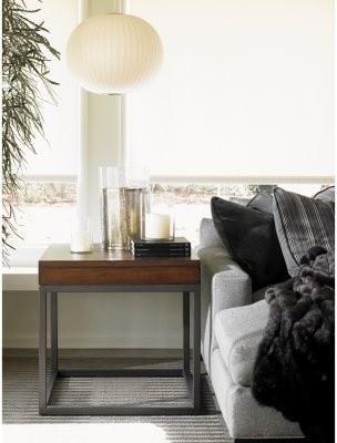 Lexington 11 South Nexus Square Umbria Wood Lamp Table modern-side-tables-and-end-tables