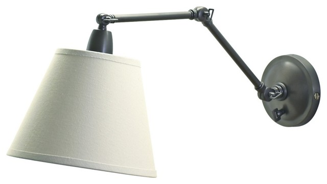 Delcourt Plug In Swing Arm Wall Lamp Traditional Swing