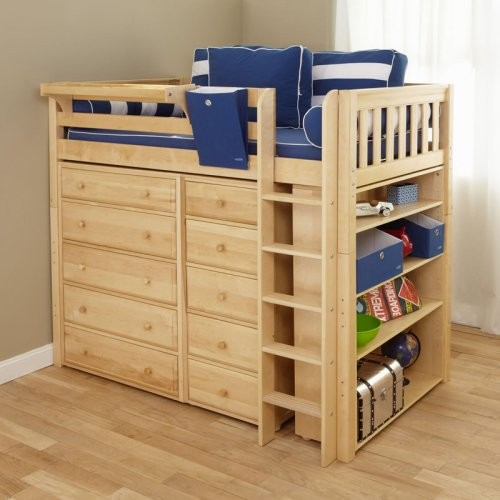 Master II Storage Loft - Traditional - Kids Beds - by Hayneedle