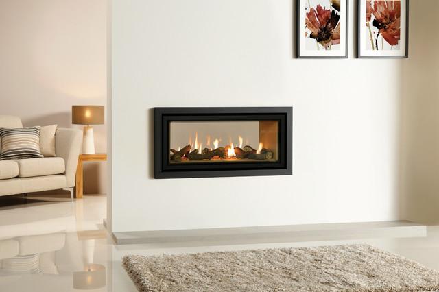 Gazco Studio Duplex Double Sided Gas Fireplace