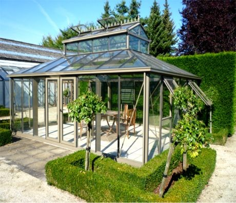 Victorian Greenhouse contemporary-greenhouses