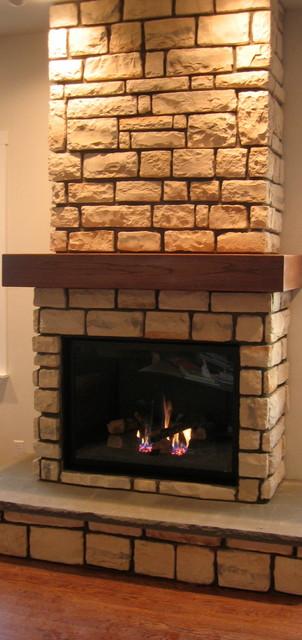 Design Built traditional-indoor-fireplaces