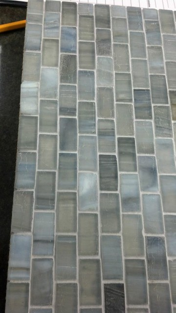 Viahara recycled glass mosaic wall-and-floor-tile
