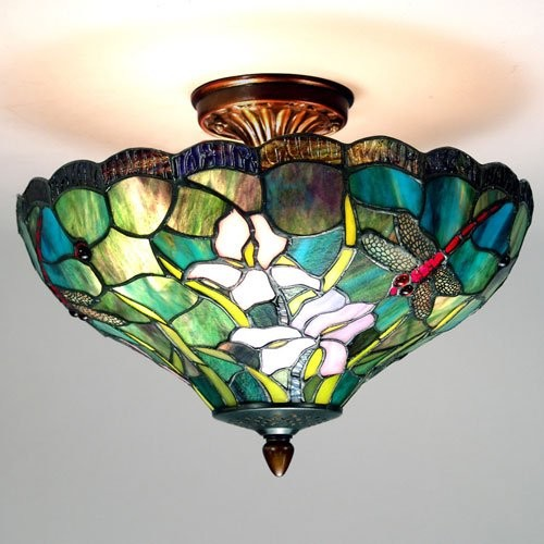 Dale Tiffany Savannah Flush Mount traditional-ceiling-lighting
