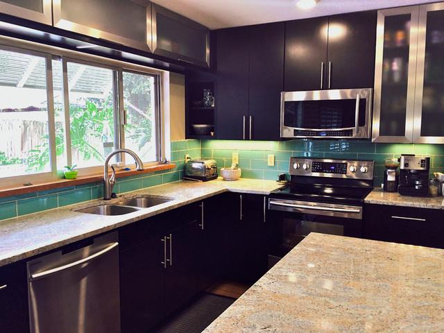 Lush 4x12 Installations transitional-kitchen