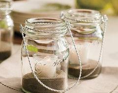 Hanging Mason Jar contemporary outdoor decor