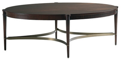 Oval Coffee Table contemporary-coffee-tables