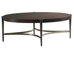 Oval Coffee Table contemporary coffee tables
