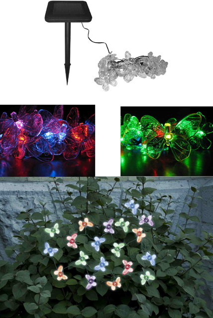 Chameleon Color Changing Solar contemporary-outdoor-lighting