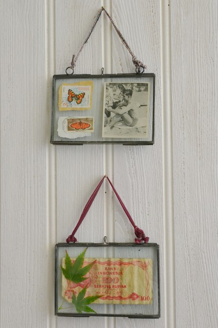 Double Sided Glass Photo Frames Rustic Picture Frames