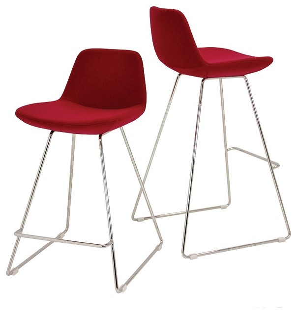 Pera Wire Bar Stool : modern bar stools and counter stools from www.houzz.com size 604 x 640 jpeg 41kB