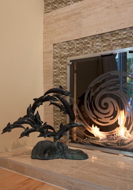 Coastal Theme by Karen Grace Interiors tropical