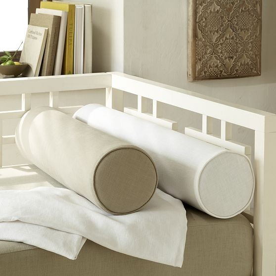 Modern Bolster Pillows : Daybed Bolsters - Modern - Daybeds - by West Elm