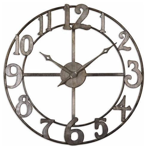 Uttermost Delevan contemporary-clocks