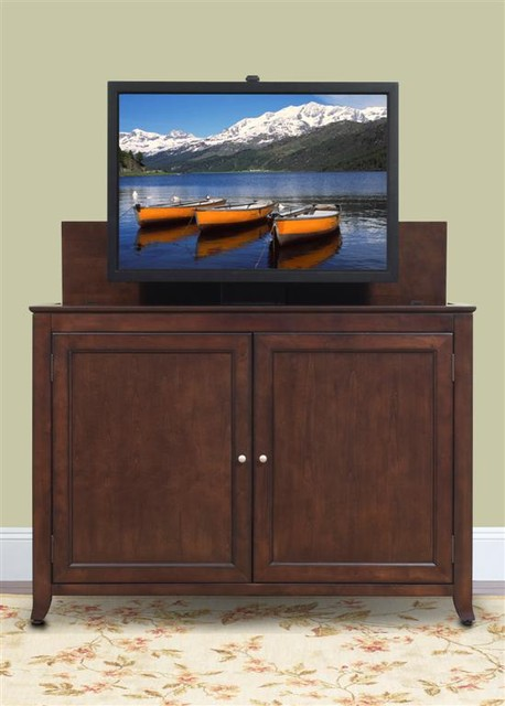 """Monterey TV Lift Cabinet For Flat Screen TV's Up To 55"""" - Contemporary - TV Cabinets and Stands ..."""