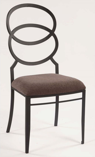 Aldo Ring Back Cushioned Counter Height Stool Bar Stools