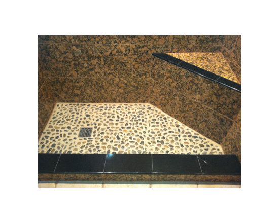 Stone Compliments Customer Photo Custom Stone Shower trims -