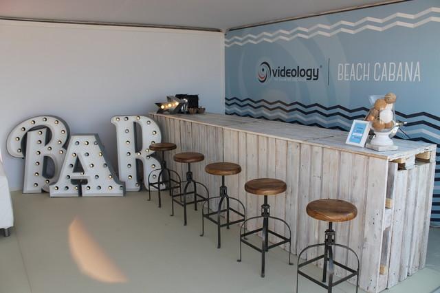 cannes bespoke beach bar beach style home bar other. Black Bedroom Furniture Sets. Home Design Ideas