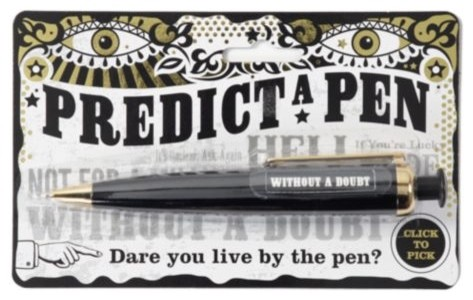 Predict A Pen modern artwork