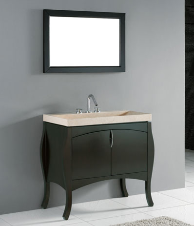 Madeli Sorrento 39 Bathroom Vanity contemporary bathroom vanities and sink consoles