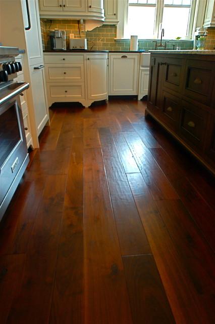 Random Width, French Country Walnut, Hand Scraped, Signature Finish hardwood-flooring