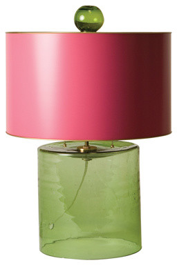 Elle Glass Lamp contemporary-table-lamps