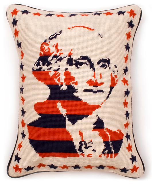 George Washington Pillow eclectic-decorative-pillows