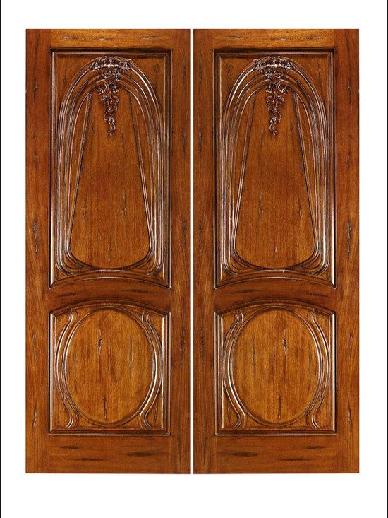 Art Nouveau Entry Doors Model # AN-2013 -