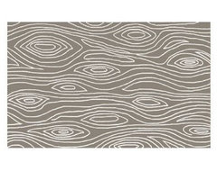 Gray Grain Rug eclectic-rugs