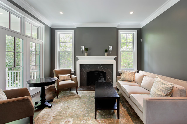 Adams Shingle traditional-living-room