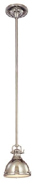 Polished Nickel Mini Pendant Light pendant-lighting