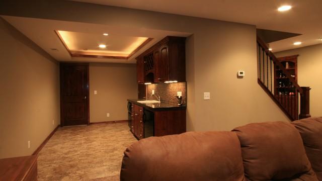 Basements traditional-basement