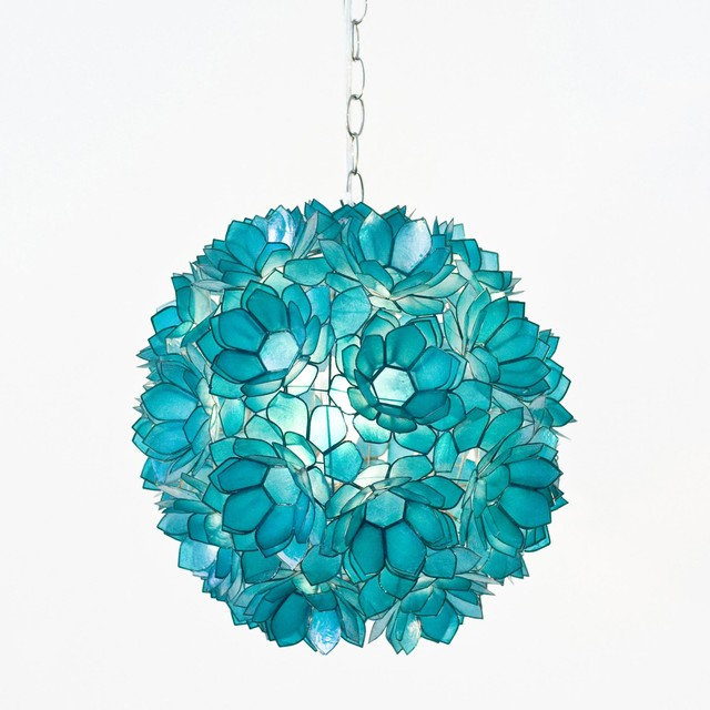 Worlds Away Venus Pendant in Turquoise traditional pendant lighting