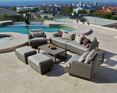Portofino™ Signature 8 Piece Deep Seating Set in Weathered Grey outdoor-sofas