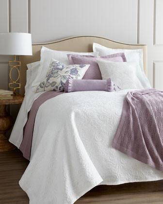 "SFERRA Hannah Matelasse Boudoir Sham, 12"" x 16"" traditional-pillowcases-and-shams"