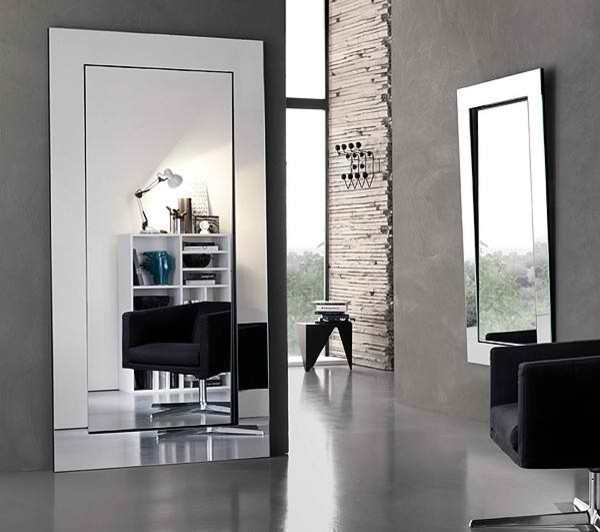 Gerundio Mirror Contemporary Bathroom Mirrors