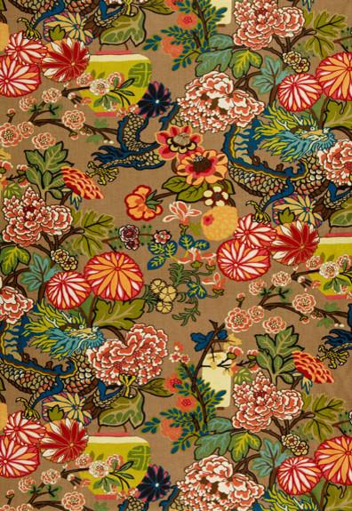 Chiang  Mai  Dragon asian-fabric